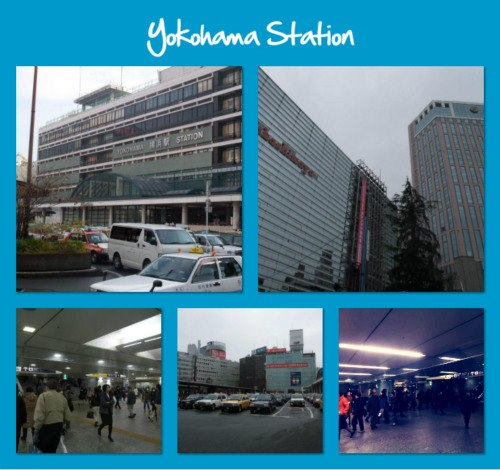 Yokohama Station Collage